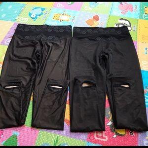Pants - Heel Strap Leggings