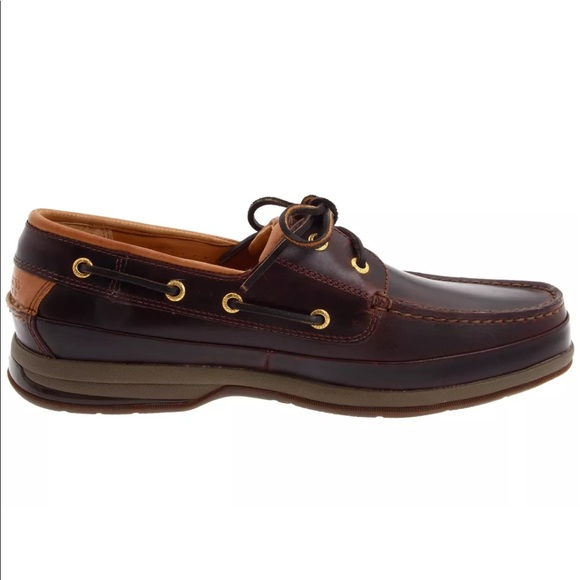 Men S Gold Cup Asv  Eye Boat Shoe