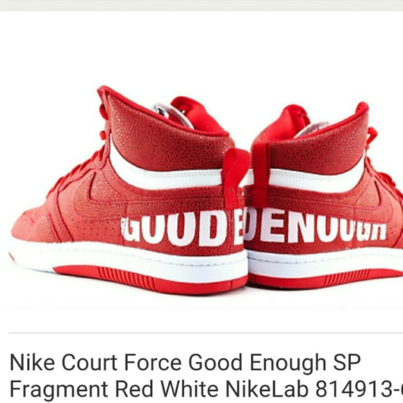 competitive price 06beb 1e08e ... discount code for nike court force good enough sp fragment red white  f69cd d9872