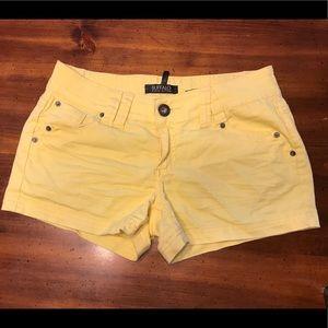 Buffalo David Bitton Pants - Buffalo David Britton Yellows Short Shorts Size 29