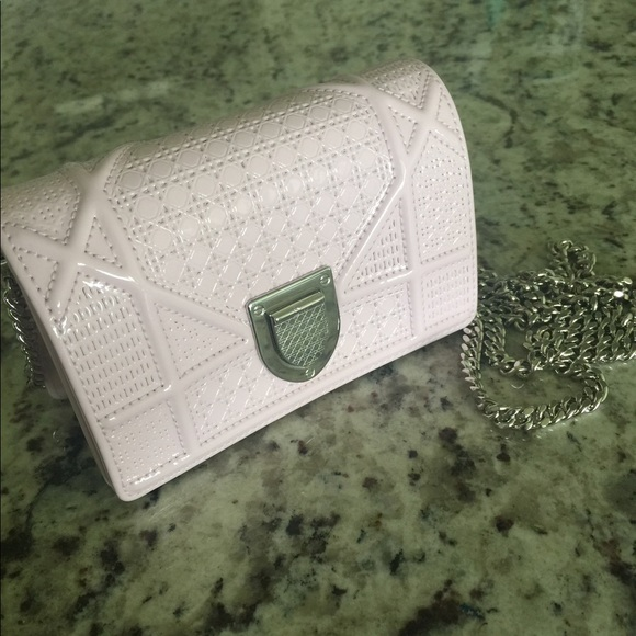 feccc7e477 Christian Dior Bags | Solddior Baby Pink Micro Diorama Bag | Poshmark