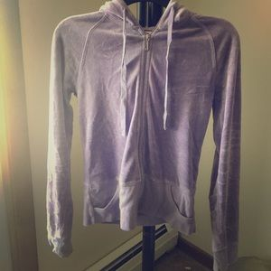 Juicy Couture Lilac Velour Zip Up Hoodie!!!