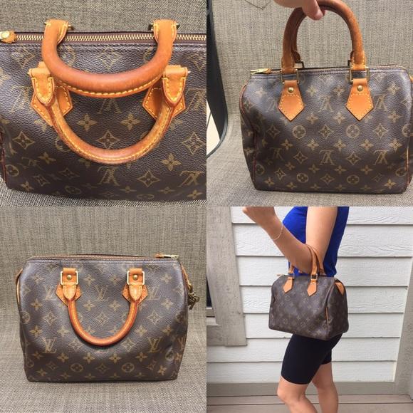 fe97ae000b46 Louis Vuitton Handbags - 💯Authentic Louis Vuitton Speedy 25 vintage bag