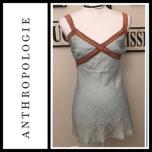 Anthropologie Tops - Anthropologie Chan Luu 100% silk cami