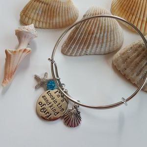 """Jewelry - New """"Toes in the sand"""" bracelet"""