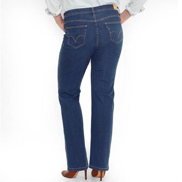 1a278d55fb9b5 Women s Levi s 580 Curvy Bootcut Jeans (size 18)😍