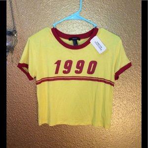 Tops - 1990 Vintage Crop Top