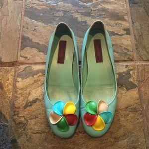 Kenzo Shoes - Amazing vintage kenzo pinwheel flats