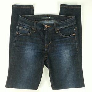 Joe's Jeans Dark Wash Skinny Ankle Cut Jeans