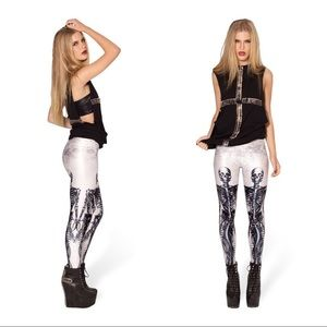 e1f5d34a5f88a Blackmilk Pants - BlackMilk - Mermaid Skeleton Leggings