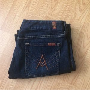7 For All Mankind Denim - 7 For All Mankind A Pocket Jeans