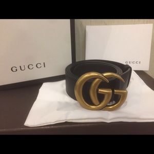 Gucci Other - NEW Gucci Gold Brass Belt!!!