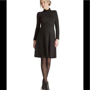 Seraphine Dresses & Skirts - Seraphine Black Maternity Dress - super flattering