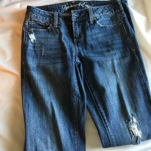 American Eagle Outfitters Denim - Distressed American Eagle Jeans