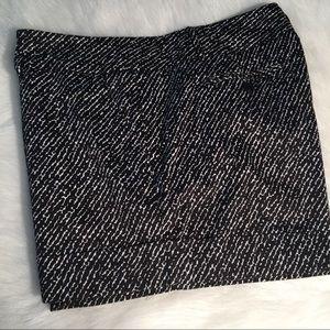 Nyco black and white print dress shorts