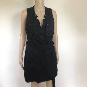 Free People Dresses & Skirts - UO Free people black wrap dress size M