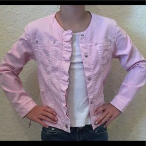 Mayoral Other - NWOT, Girls pink jacket. Size 9!