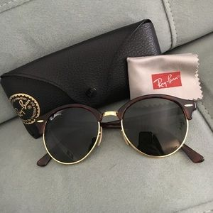 Ray-Ban Accessories - Ray Bans Clubround Classic Tortoise