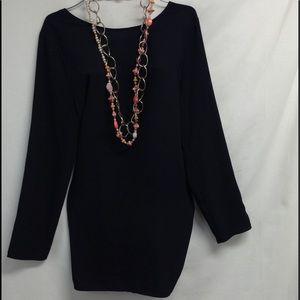 Tildon Dresses & Skirts - $59 TILDON black low back sheer dress size L
