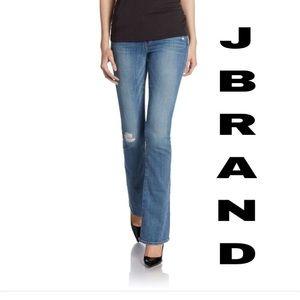 JBrand Janet slim boot cut jeans