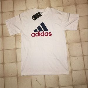 Adidas big logo t Shirt Size Medium