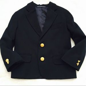 Class Club Other - Class Club Boys Dress Coat with Gold Buttons (3T)
