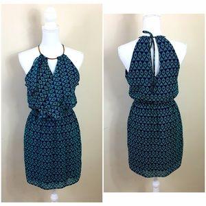 Bisou Bisou Dresses & Skirts - {Bisou Bisou} Geo Halter Dress
