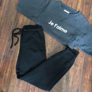 Zara Black Pant