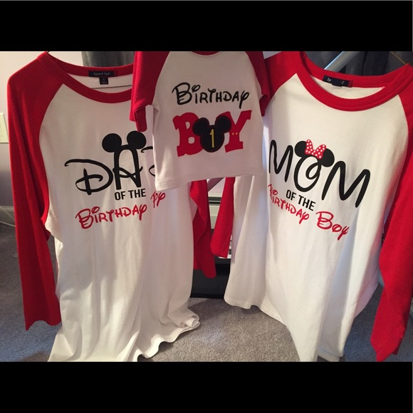 277311ee2 Tops | Mickey Mouse Birthday Party T Shirts | Poshmark