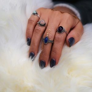 Child of Wild Jewelry - 4 rings gem set brand new