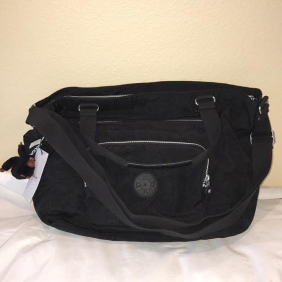 8c7a2e0f7 Kipling Bags | Nwt Black Maxwell Tote Shoulder Bag | Poshmark