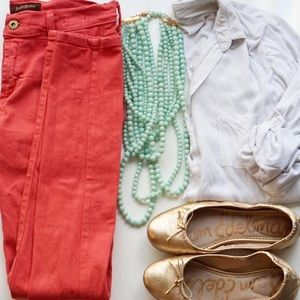 🆕James Jeans Twiggy Skinny Coral