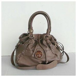 Elliott Lucca Handbags - Elliott Lucca Leather Slouch Bag