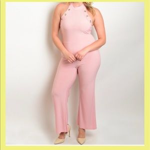 5*rating 🚨Plus sexy pink Jumpsuits
