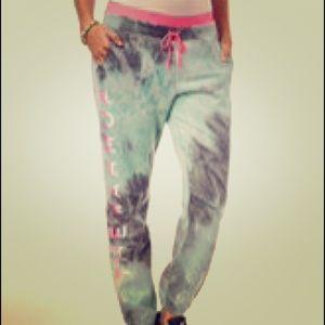Jessica Simpson Pants - Tie-Dye Sweatpants