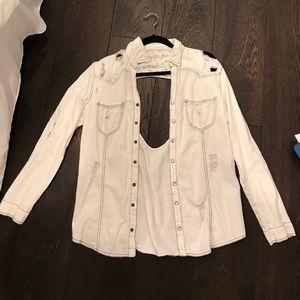 Millau Jackets & Blazers - LF Millau Ripped Jacket