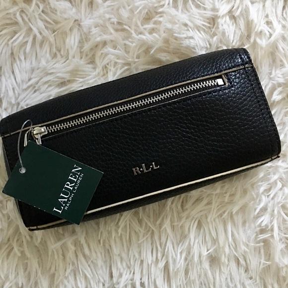 54ff7e6963 NWT Ralph Lauren Paley Leigh Cosmetic Bag