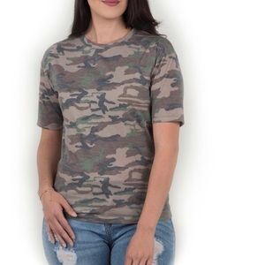 Amor Adore Tops - Soft Camouflage tshirt