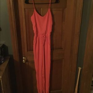 Other - Coral pants romper size XS
