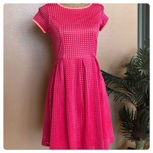 Xhilaration Other - Bubbly bright neon colored dress