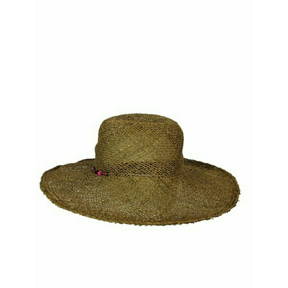 078cd694982 Lucy Barlow Accessories - Lucy Barlow Boho Hippie Chic Woven Wide Brim Hat