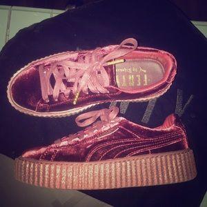 Rihanna Shoes - Puma Rihanna Fenty velvet creepers Authentic