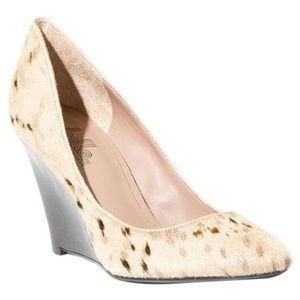 Belle by Sigerson Morrison Shoes - SALE: Sigerson Morrison calf hair wedges