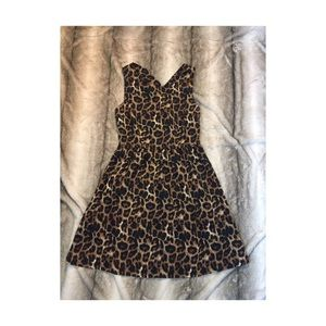 Forever21 Leopard Dress