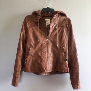 Maralyn & Me Jackets & Blazers - Moto Jacket