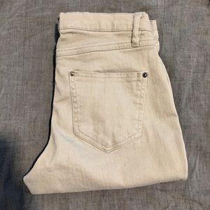 HUE Denim - Hue Ripped Denim Skimmer Jeans