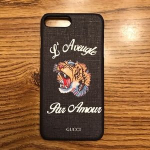 Gucci Other - Gucci iPhone 7+ Case