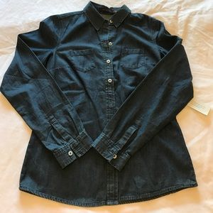 NWT The Limited Chambray Shirt