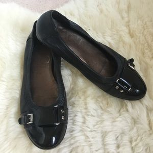 Attilio Giusti Leombruni Shoes - AGL black shoes with buckle Made in Italy!