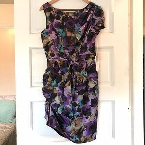 2B.Rych Dresses & Skirts - Floral Fine 100% Silk Dress